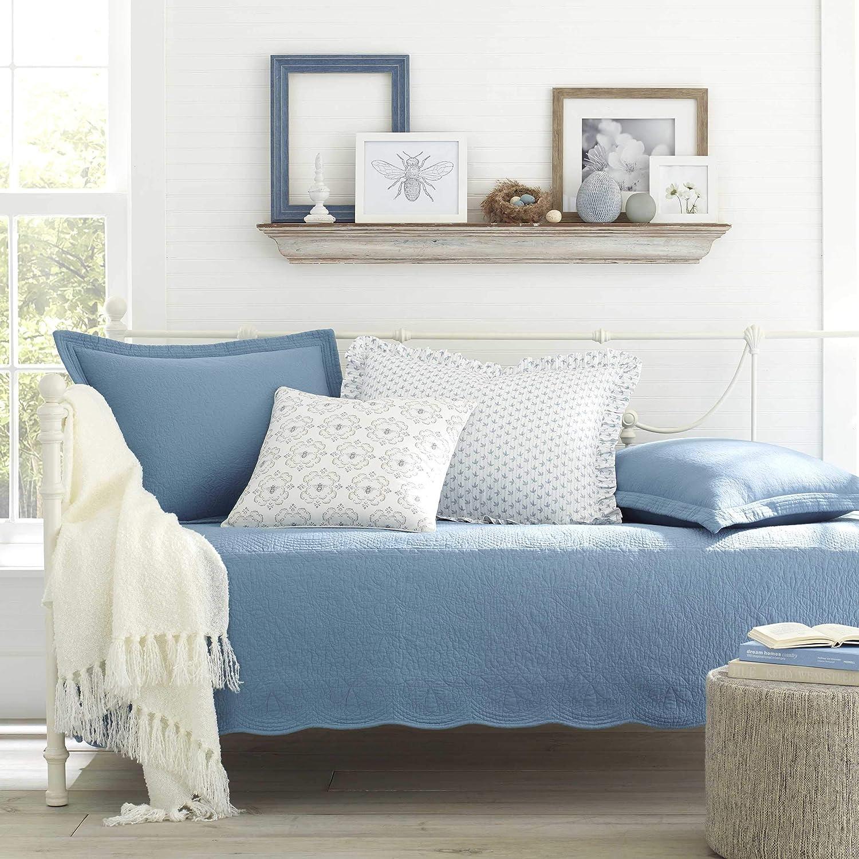 Stone Cottage Trellis Daybed Set, 39x75, Blue Revman International USHSFK1056402