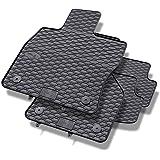 Alfombrillas de goma - 4-piezas - un ajuste perfecto - negro - 5902538448611