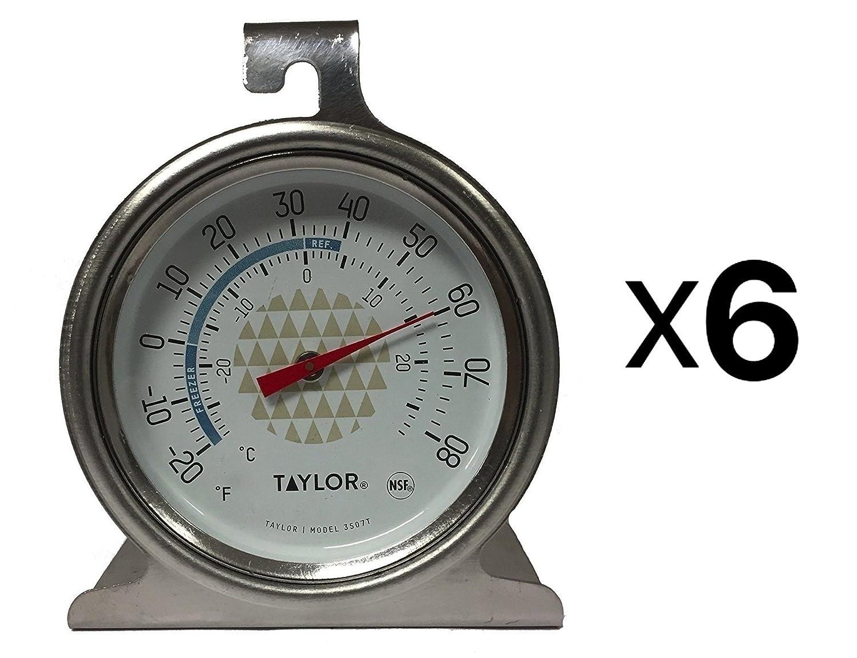 Tru Temp Refrigerator-Freezer Thermometer (6 Pack)
