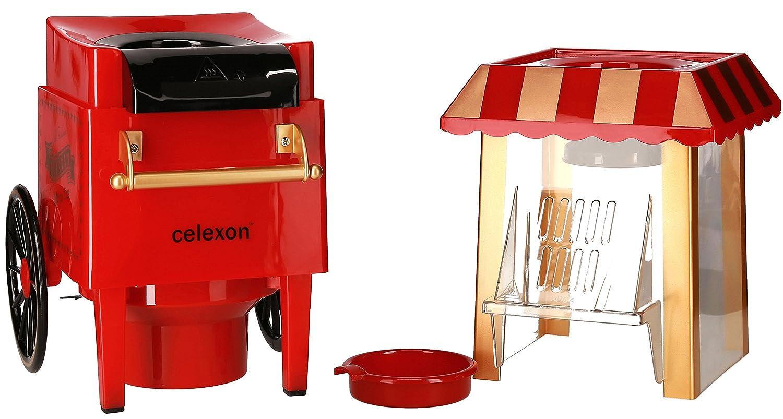 Celexon CinePop CP500 palomitas de maiz poppers Rojo 1200 W - Palomitero (1200 W, 220-240 V, 50 Hz, 264 x 415 x 214 mm, 1,2 kg): Amazon.es: Hogar