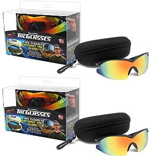 25d9058376 Bell + Howell TAC GLASSES Sports Polarized Sunglasses for Men Women As Seen  On TV