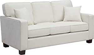 Ave Six Russell 3 Seater Sofa, Ivory