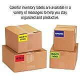"Tape Logic Shipping & Handling Label, Legend""QC"