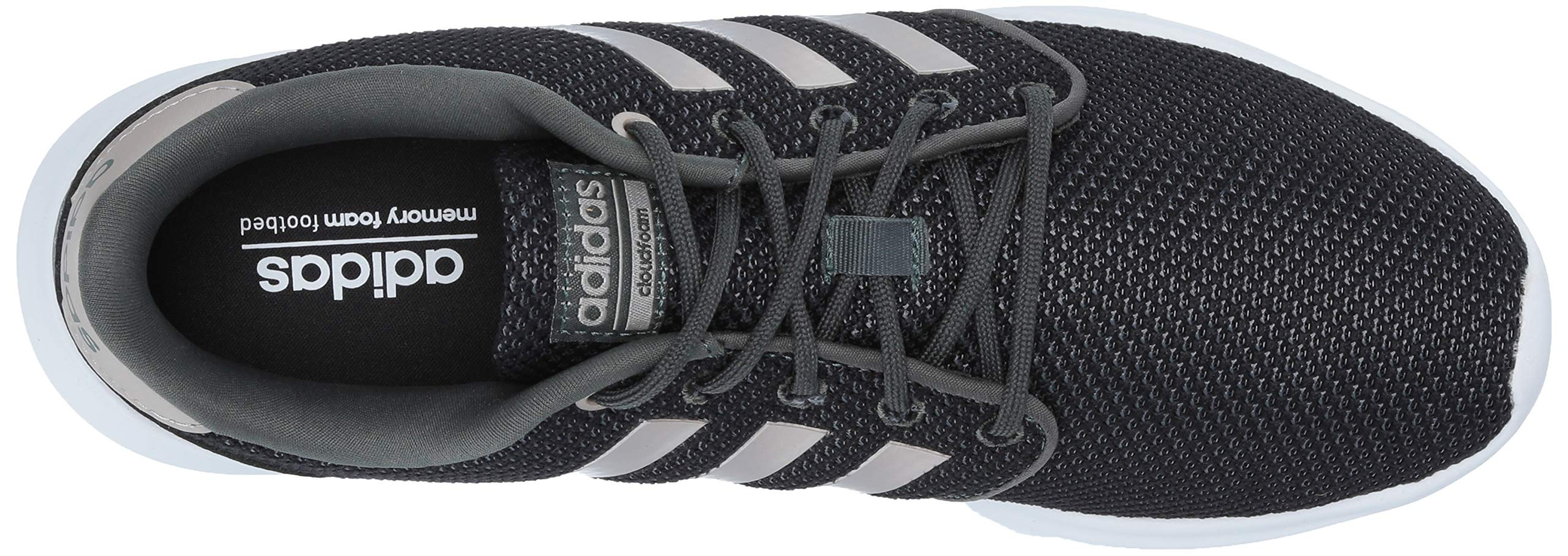 adidas Women's Cloudfoam QT Racer, Legend Ivy/Platino Metallic/Black, 5.5 M US by adidas (Image #7)