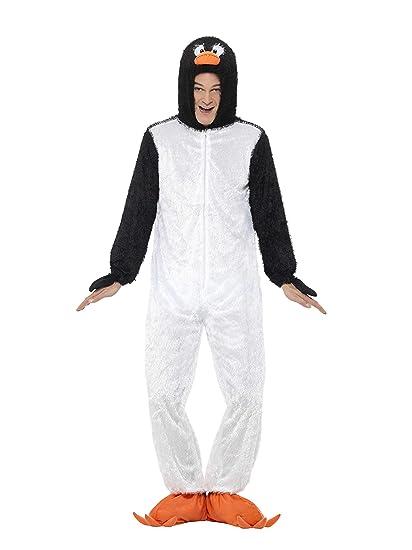 Smiffys - Disfraz de pingüino para hombre, talla única ...