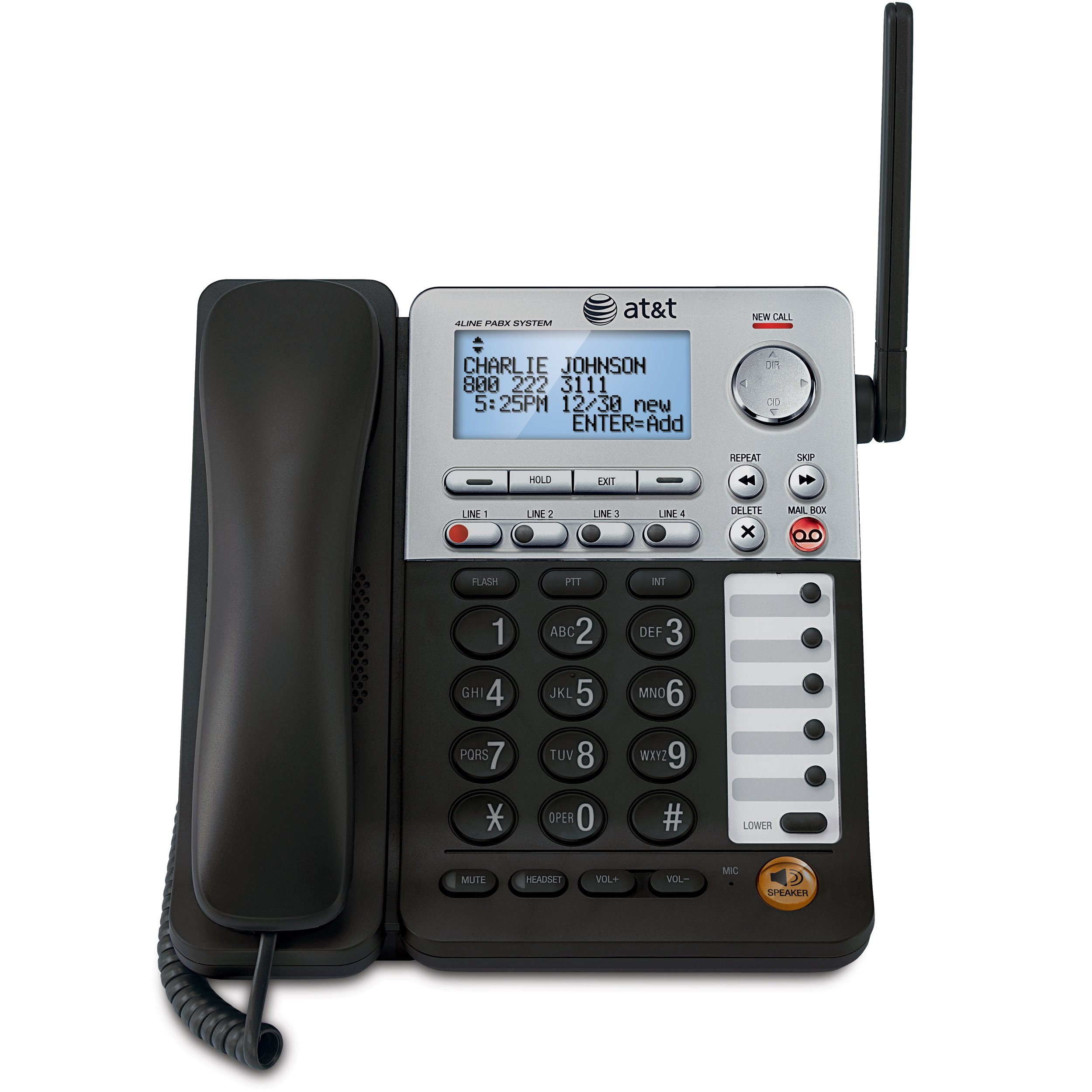 AT&T SynJ SB67148 DECT 6.0 Cordless Deskset for the AT&T SynJ SB67138 & SB67158 Small Business Phone System