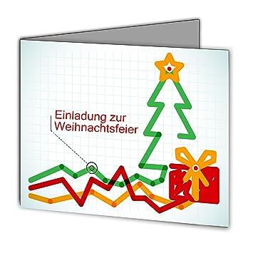 Weihnachtskarten Einladung.Einladungskarten Zur Weihnachtsfeier Weihnachten Firma Geschäftlich