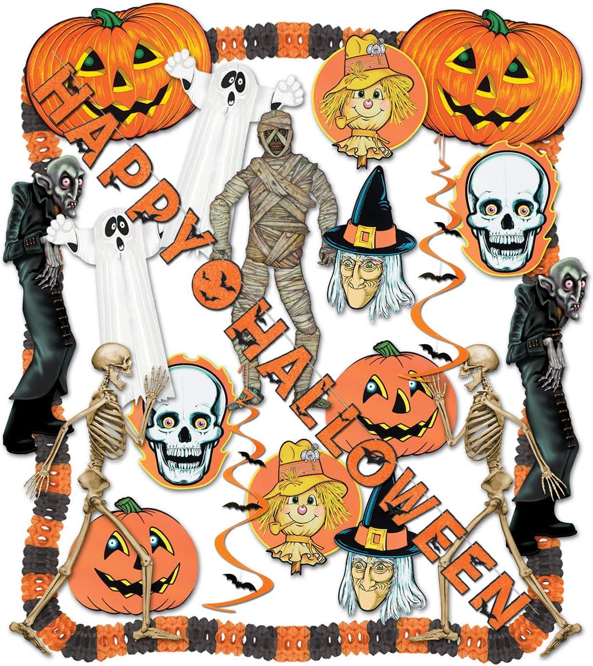Amazon Halloween Decorating Kit 24 Pcs Party
