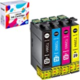Weemay Compatible Replacement for Epson 29XL 29 Ink Cartridges High Yield Use for Epson Expression Home XP-235 XP-432 XP-332 XP-335 XP-435 Printer 4PK (1Black 1Cyan 1Magenta 1Yellow)