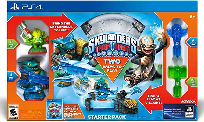 Skylanders Ps4 - Kit de iniciación de Equipo de Trampa: Amazon.es: Juguetes y juegos