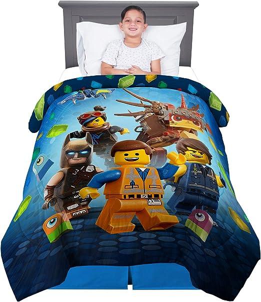 3 Piece Twin Size New Lego Movie 2 Kids Bedding Super Soft Sheet Set