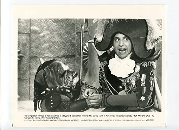 MOVIE PHOTO: Mom and Dad Save the World-Jon Lovitz-8x10-B&W