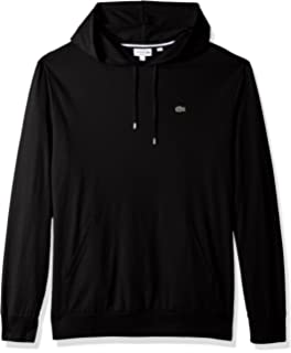 ff6a3a97c85 Lacoste Men s Sport Pull Over Hoodie Fleece Sweatshirt at Amazon ...