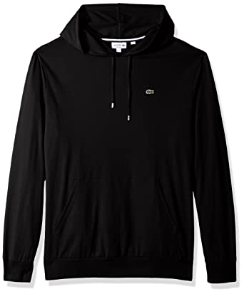9e538252 Lacoste Men's Long Sleeve Hooded Jersey Cotton T-Shirt Hoodie | Amazon.com