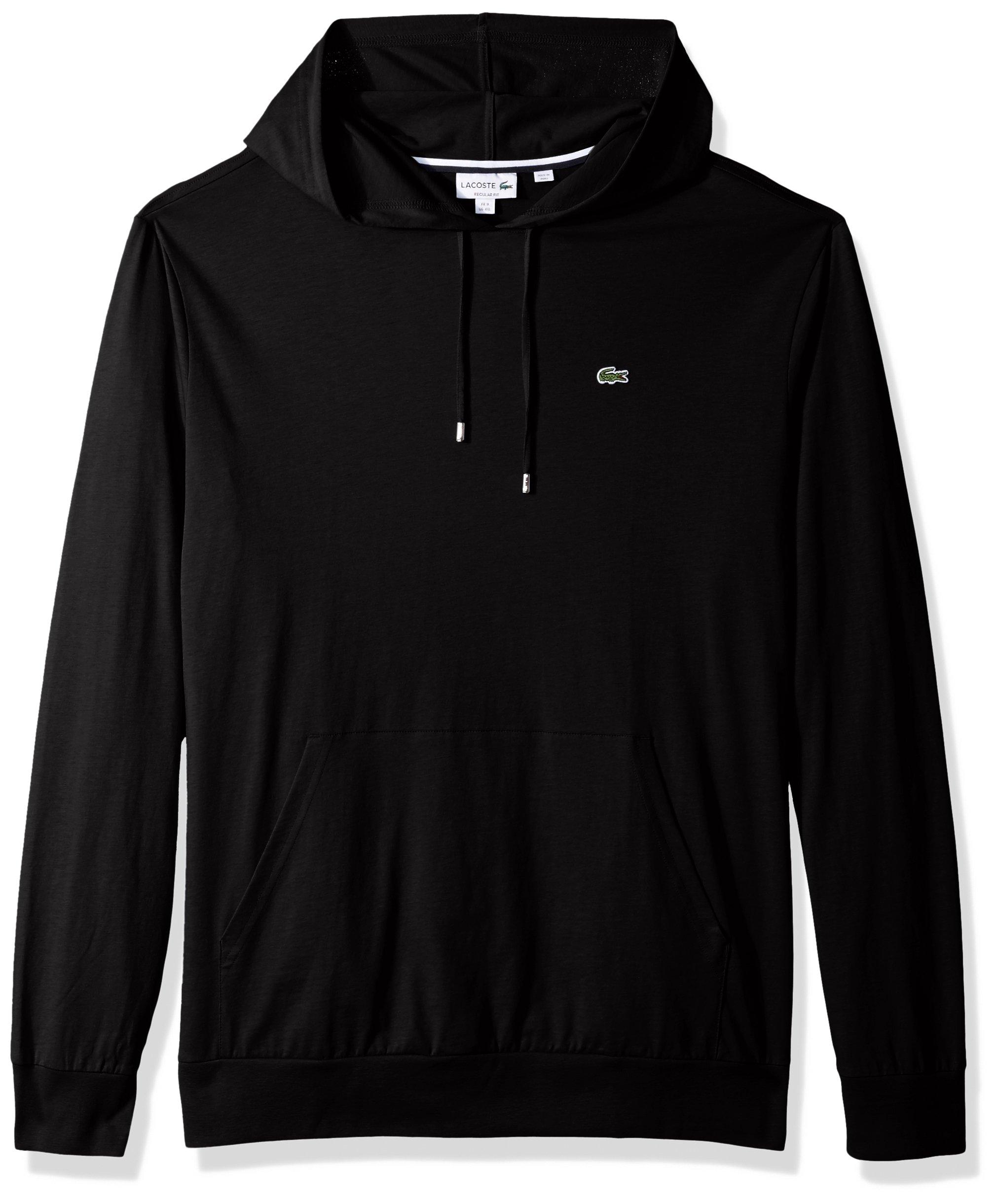 Lacoste Men's Long Sleeve Hooded Jersey Cotton