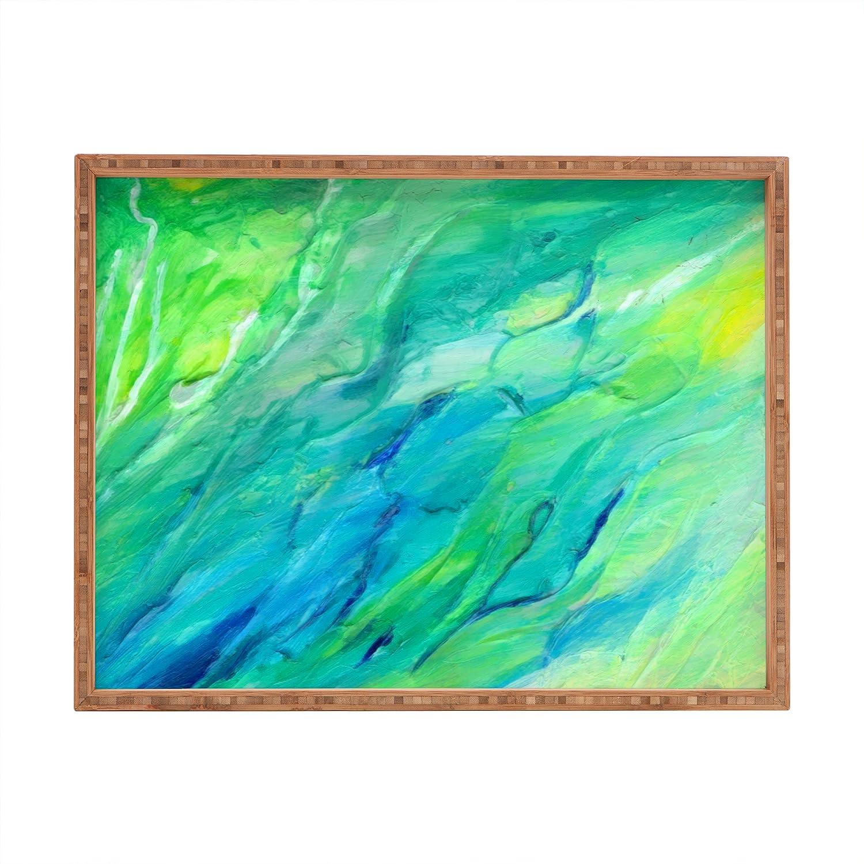 Deny Designs Rosie Brown The Sea Indoor//Outdoor Rectangular Tray 17 x 22.5