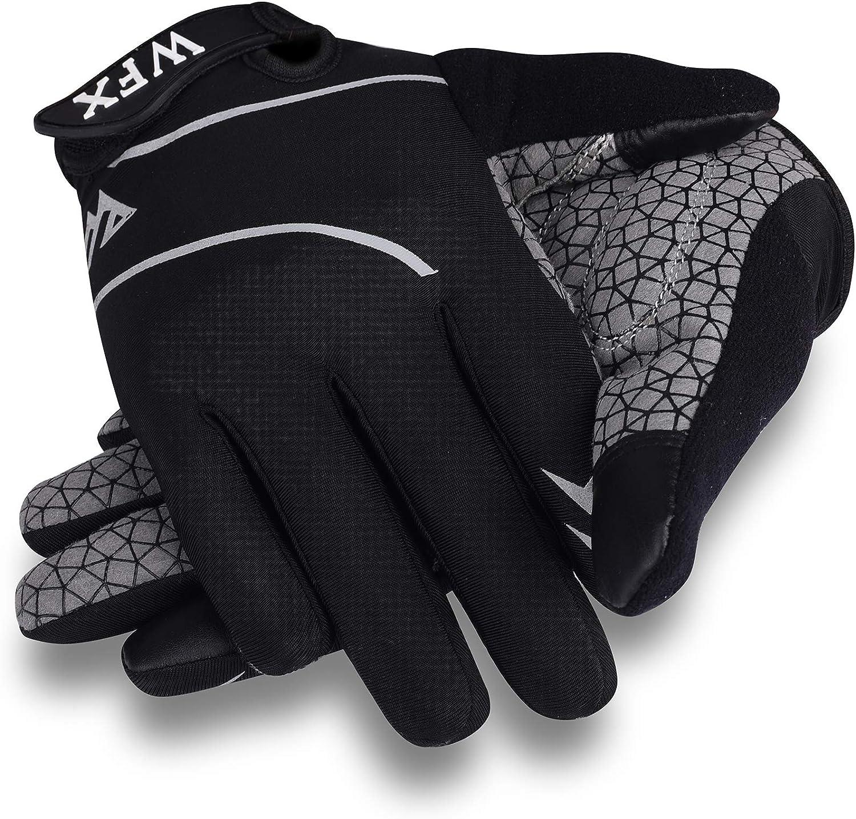 WESTWOOD FOX WFX Guantes de ciclismo Full Finger Pantalla t/áctil MTB Road Biking Guantes para hombres medio dedo guantes sin dedos bicicleta de monta/ña antideslizante transpirable Bicicletas deportes