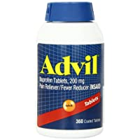 Advil Pain Reliever / Fever Reducer, 200mg (360 Tablets)