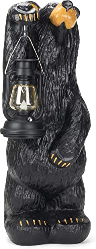 DEMDACO Koleman Bear with Lantern, Bearfoots Bears Grand Series