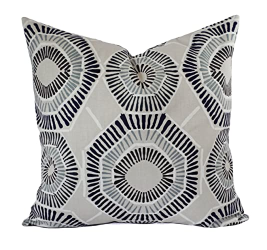 Amazon Gray Taupe Navy Brown Pillows Modern Pillow Cover Enchanting Gray And Beige Decorative Pillows