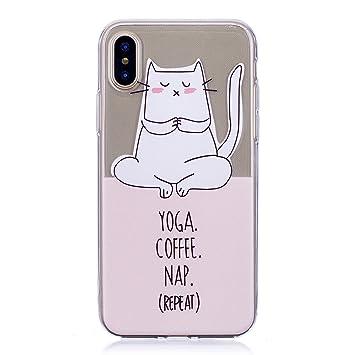 coque cat iphone x