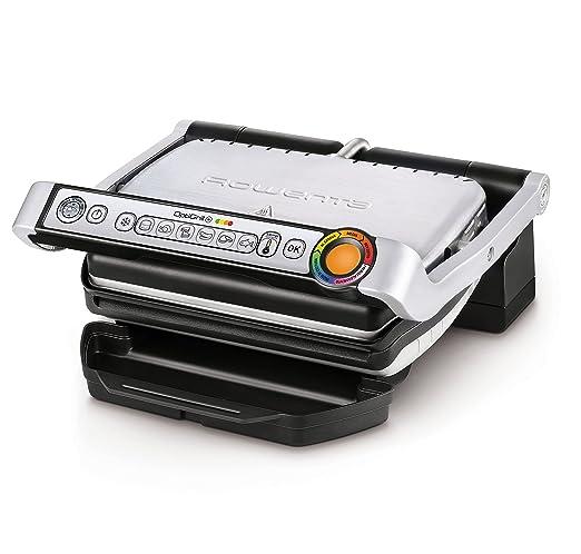 150 opinioni per Rowenta GR712D Optigrill+ Bistecchiera Intelligente con 6 Programmi di Cottura