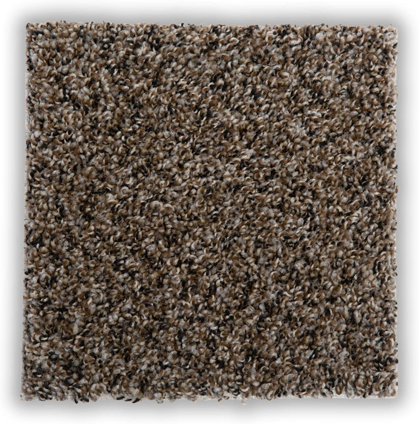 """10 Tile Per Box Made in USA , Stonehenge Seamless Appearance 22.5 sq. ft. Peel and Stick Easy DIY Installation SMART SQUARES in A Snap 18/"""" x 18/"""" Residential Soft Carpet Tile"""