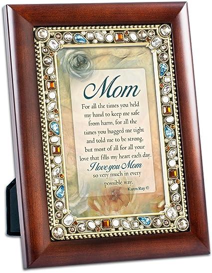 Amazon.com - Cottage Garden I Love You Mom Jeweled 4\