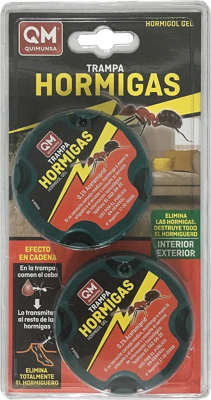 Cebo HORMIGOL anti hormigas dos unidades para interior y exterior antihormigas
