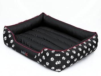 Hobbydog - Cama para Perro, Negro (Con Patas), XL (82x62x24 cm