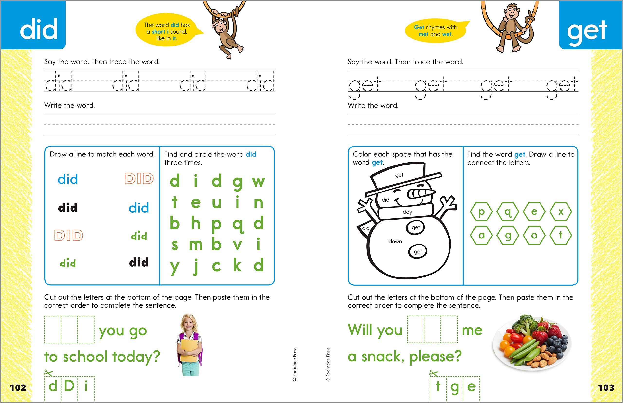 My Sight Words Workbook: 101 High-Frequency Words Plus Games & Activities!  book for sight words