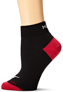 Mizuno Running Breath Thermo Running Crew Socks, Dark Slate-Black, Large