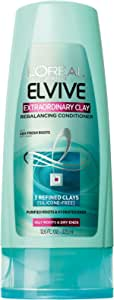 L'Oreal Paris Hair Care Expert Extraordinary Clay Conditioner, 12.6 Fluid Ounce