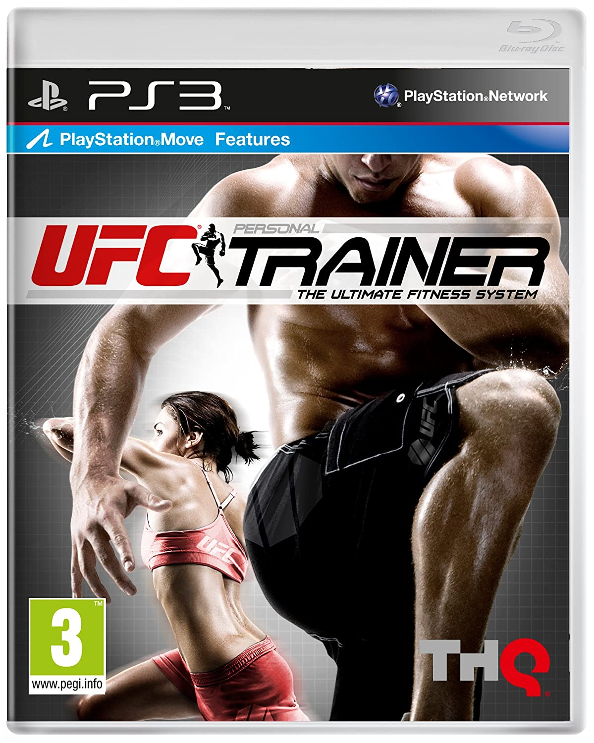 Ufc Personal Trainer Move Compatible Ps3 Amazoncouk Pc