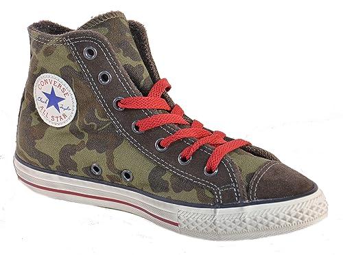 Converse All Star CT Side Zip Zapatos Deportivos Nio Caqui