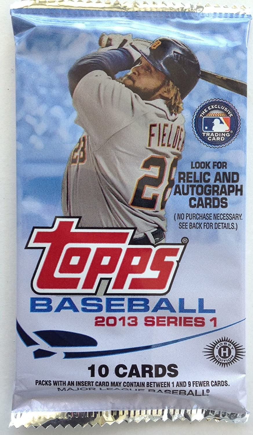 1 Pack containing 10 cards of 2013 Topps Hobby Series 1 Baseball Cards The Topps Company Inc.