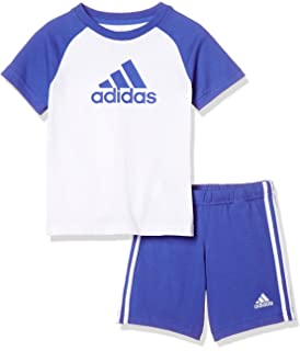 52e26408af6a0 adidas Linear Summer Ensemble Sportswear Enfant  Amazon.fr  Sports ...