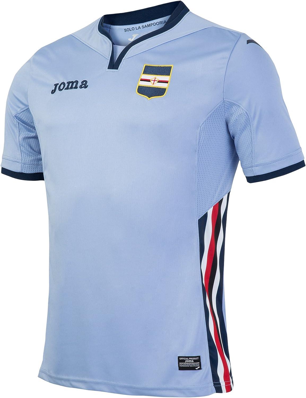 Joma 3ª Equipación Sampdoria 2016/2017 - Camiseta Oficial: Amazon ...