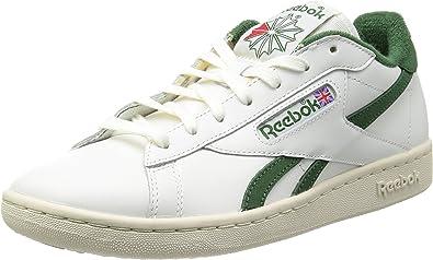 REEBOK Baskets Homme Sneakers NPC Blanche et Verte