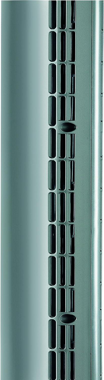 Colonne ventilateur ultra mince mod/èle /à oscillation programmable BT001 argent//noir hauteur 94/cm Bionaire
