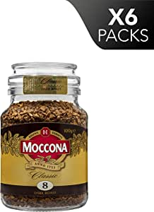 Moccona Classic Dark Roast Freeze Dried, 100 g x 6
