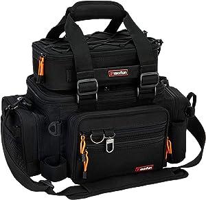 Piscifun Outdoor Fishing Tackle Box Bag Military