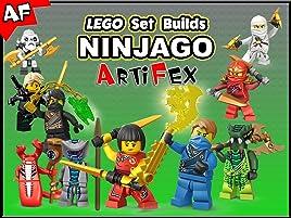 Amazon.com: Clip: Lego Set Builds Ninjago - Artifex: Artifex ...