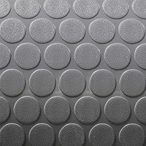RecPro Trailer Coin Flooring | Gray | 8' 6