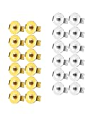 Amazon Price History for:Udalyn 24 Pcs Replacement Earring Backs Stainless Steel Earring Accessories for Screw-Back Stud Earrings