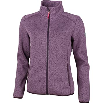 High Colorado Rax 3 Strickfleece Jacke Damen violett Melange