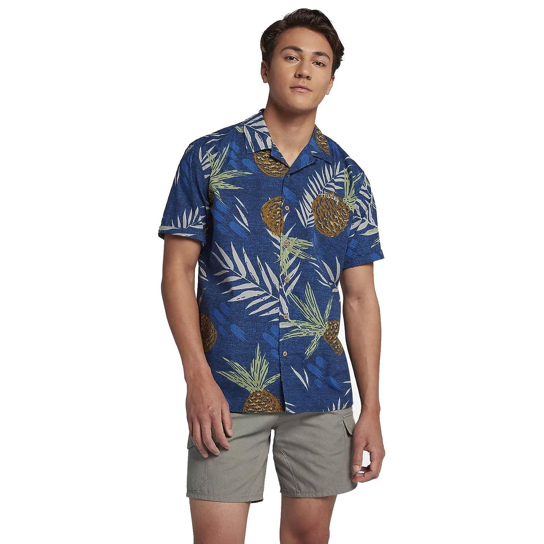Hurley Men\'s AJ1851 Seaward Men\'s Short Sleeve Shirt