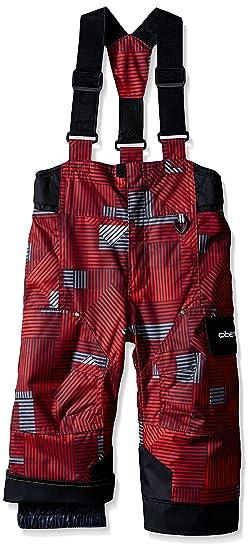 34f303f90 Obermeyer Boys KidsLittle KidsToddler Volt Pants Print (Toddler/Little Big  Kids), Red