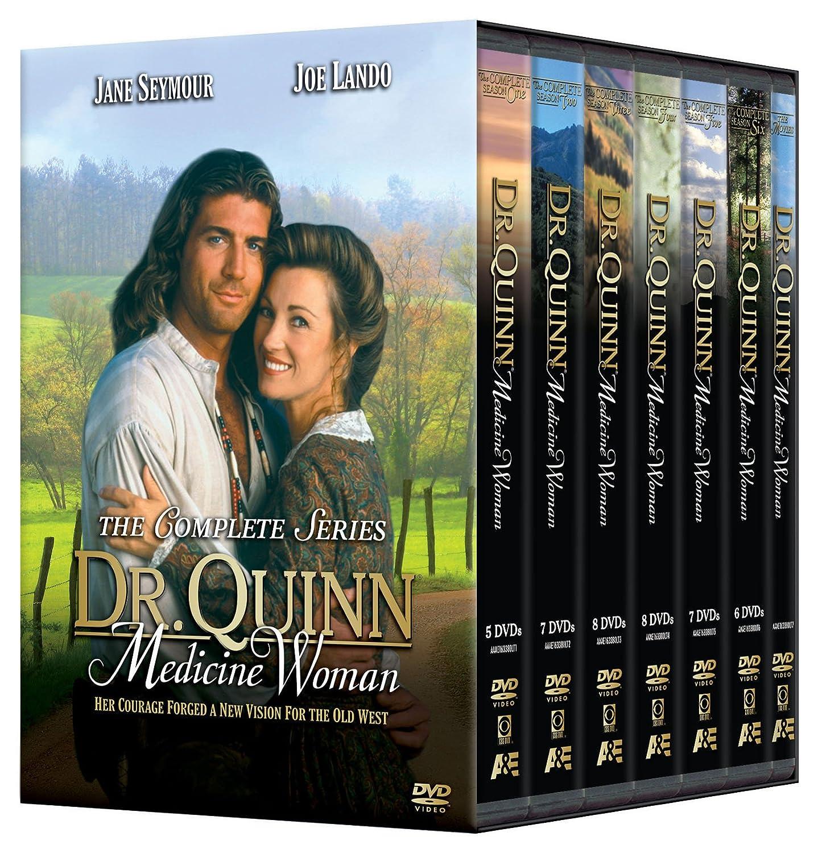 Amazon Com Dr Quinn Medicine Woman The Complete Series Jane Seymour Joe Lando Orson Bean Chad Allen Shawn Toovey Movies Tv