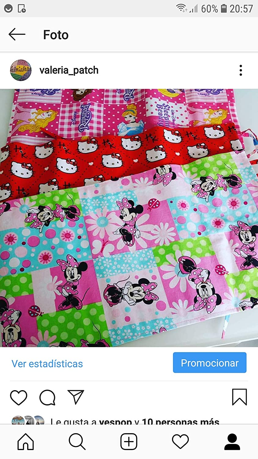 Pizarra enrollable Minnie Mouse Colores Alegres